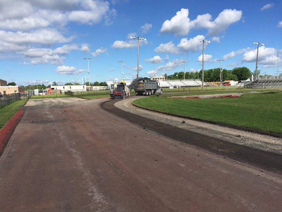 School track paving project